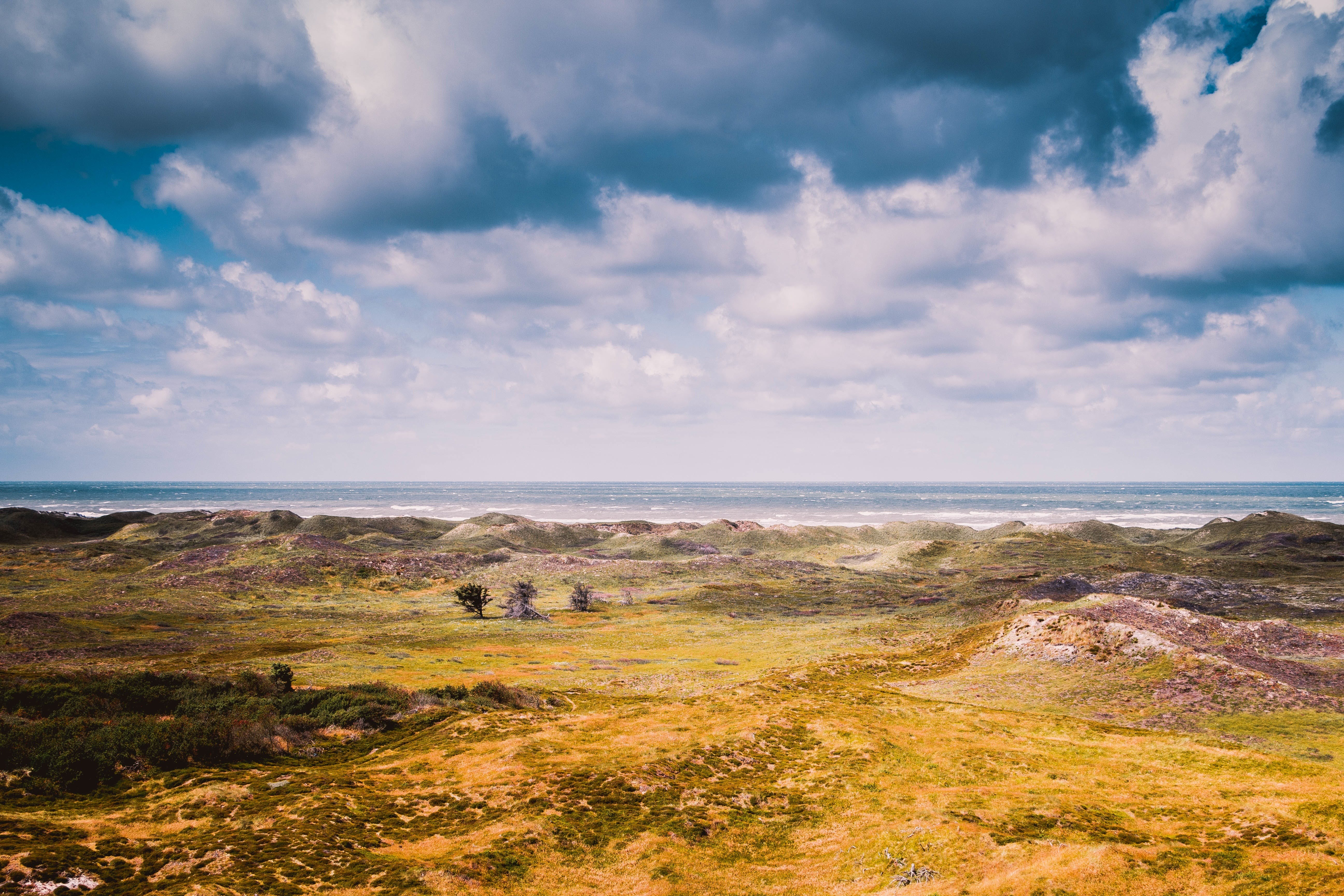 Free stock photo of clouds, landscape, nature, sea
