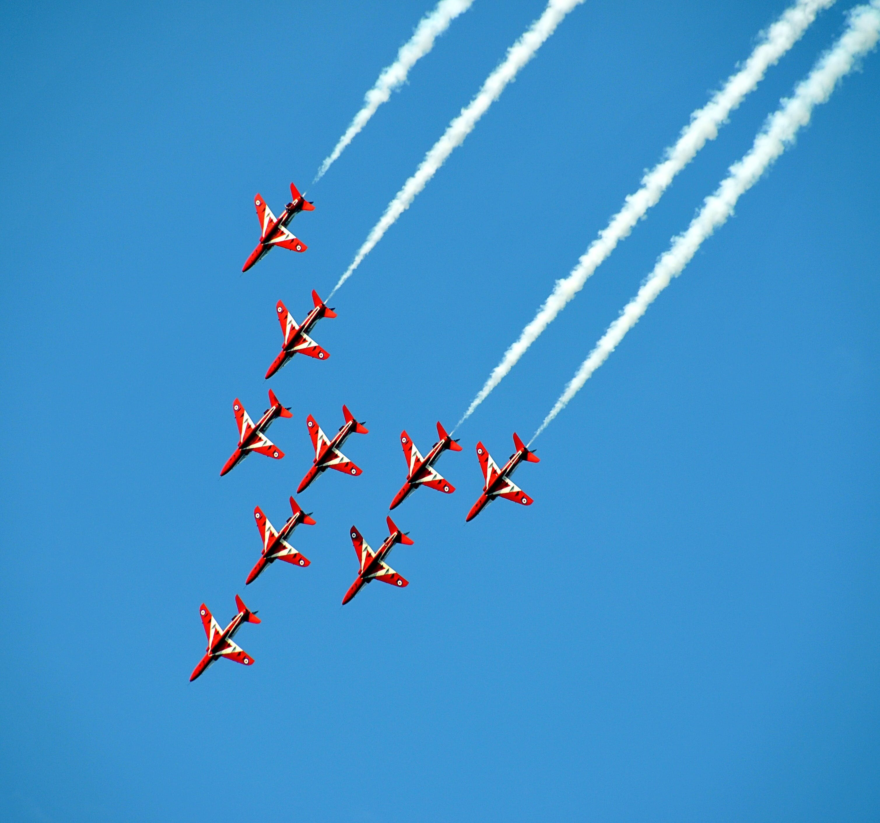 aerobatics, aircrafts, airplane
