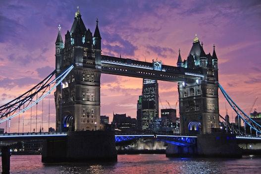 Free stock photo of city, sunset, landmark, water