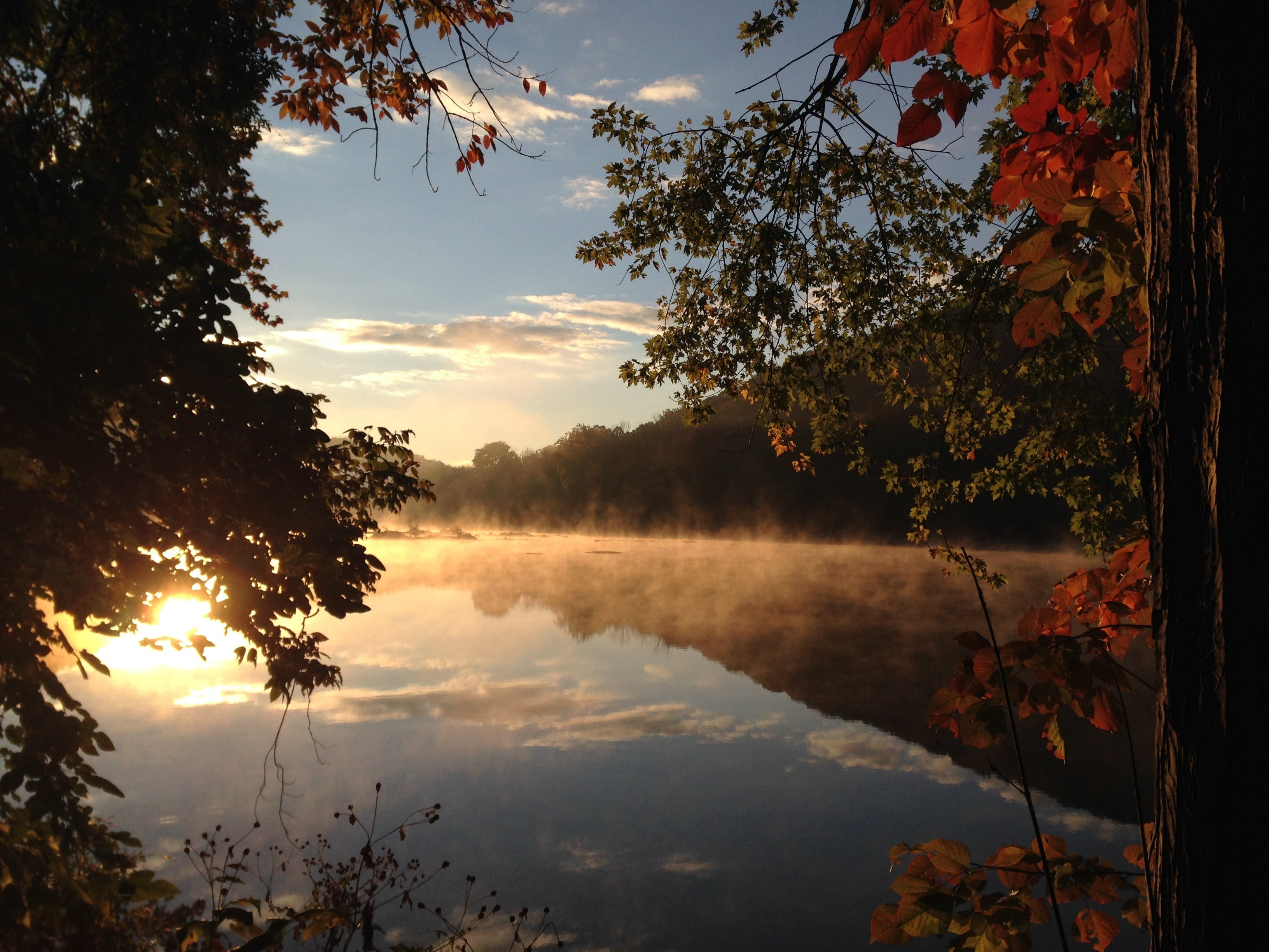 Lake Overlooking Photo during Daytime
