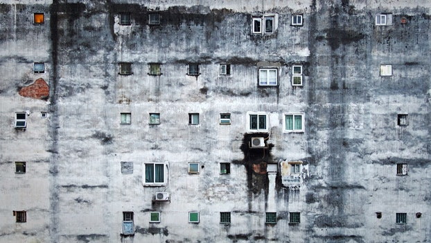 Free stock photo of dirty, building, architecture, poor