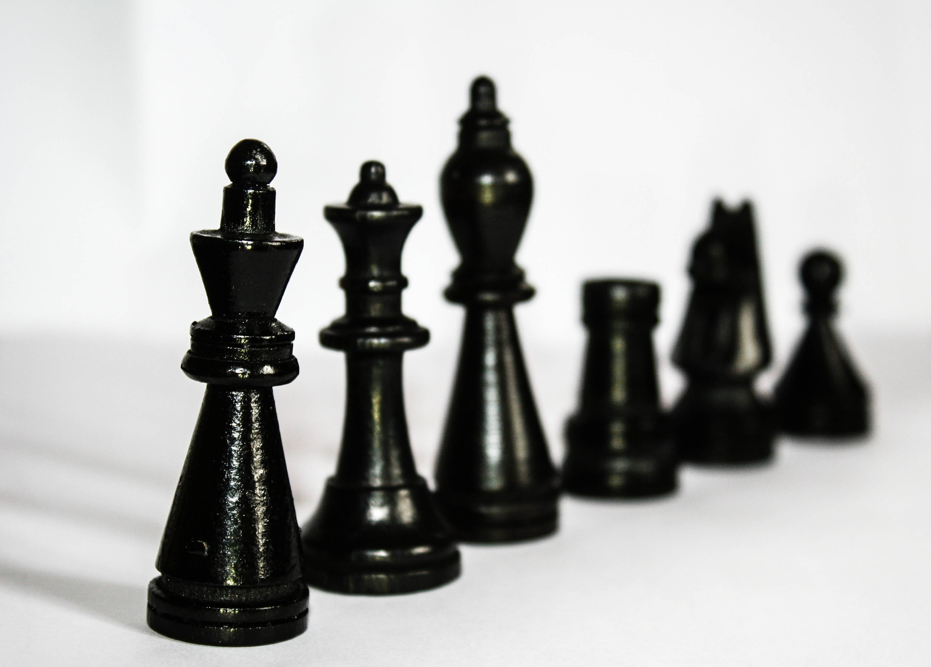 Black Chess Piece