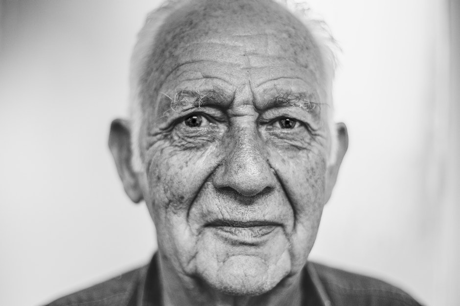 Gray Scale Photo of Man
