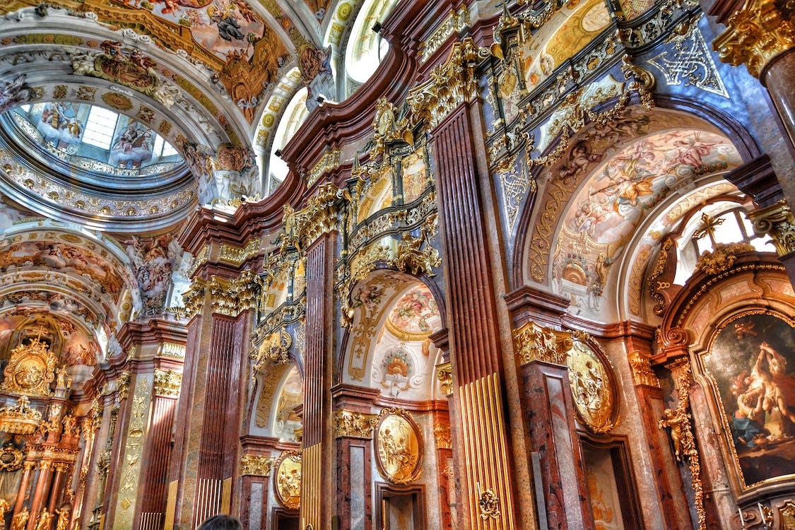 Darmowe zdjęcie z galerii z austria, barok, barokowy kościół