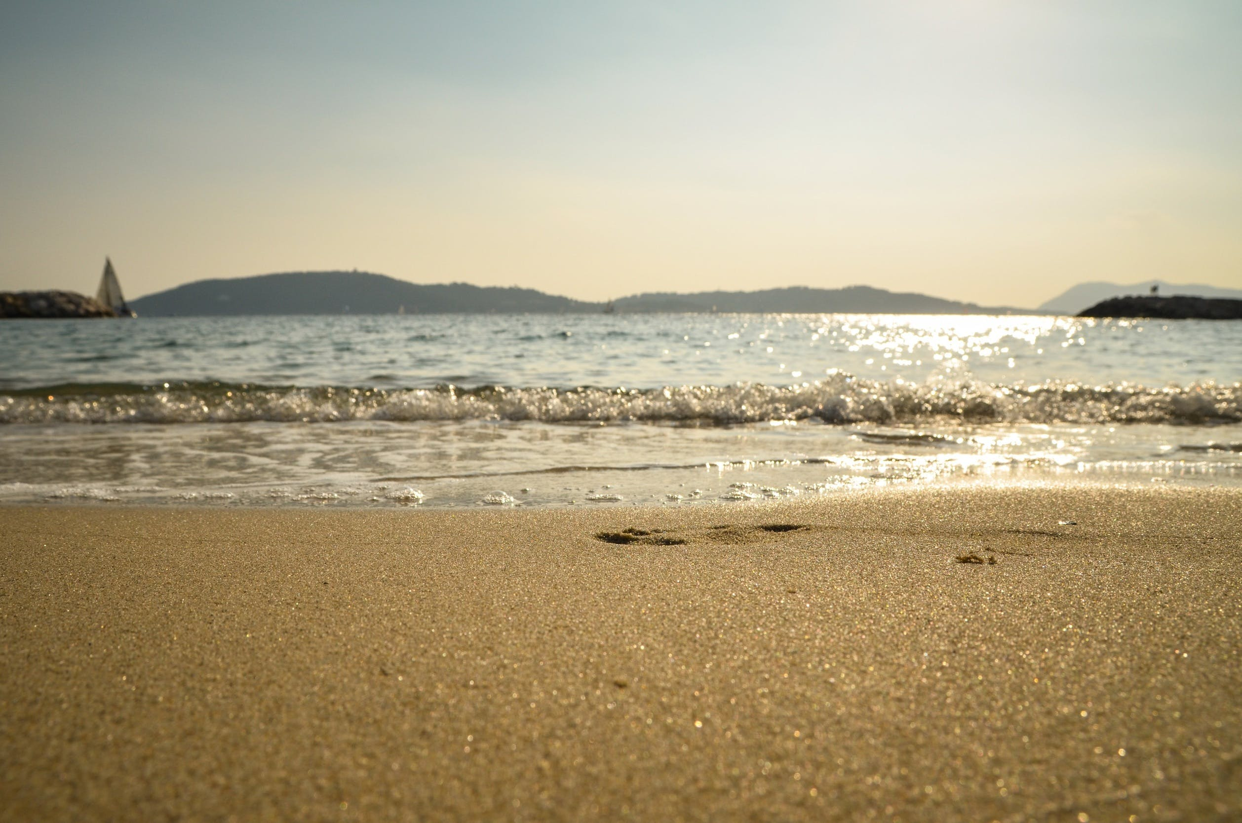 Free stock photo of sea, sky, beach, holiday