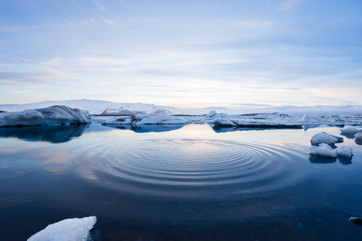 Free stock photo of cold, iceberg, water, blue