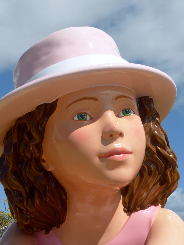 Ceramic Female Figurine