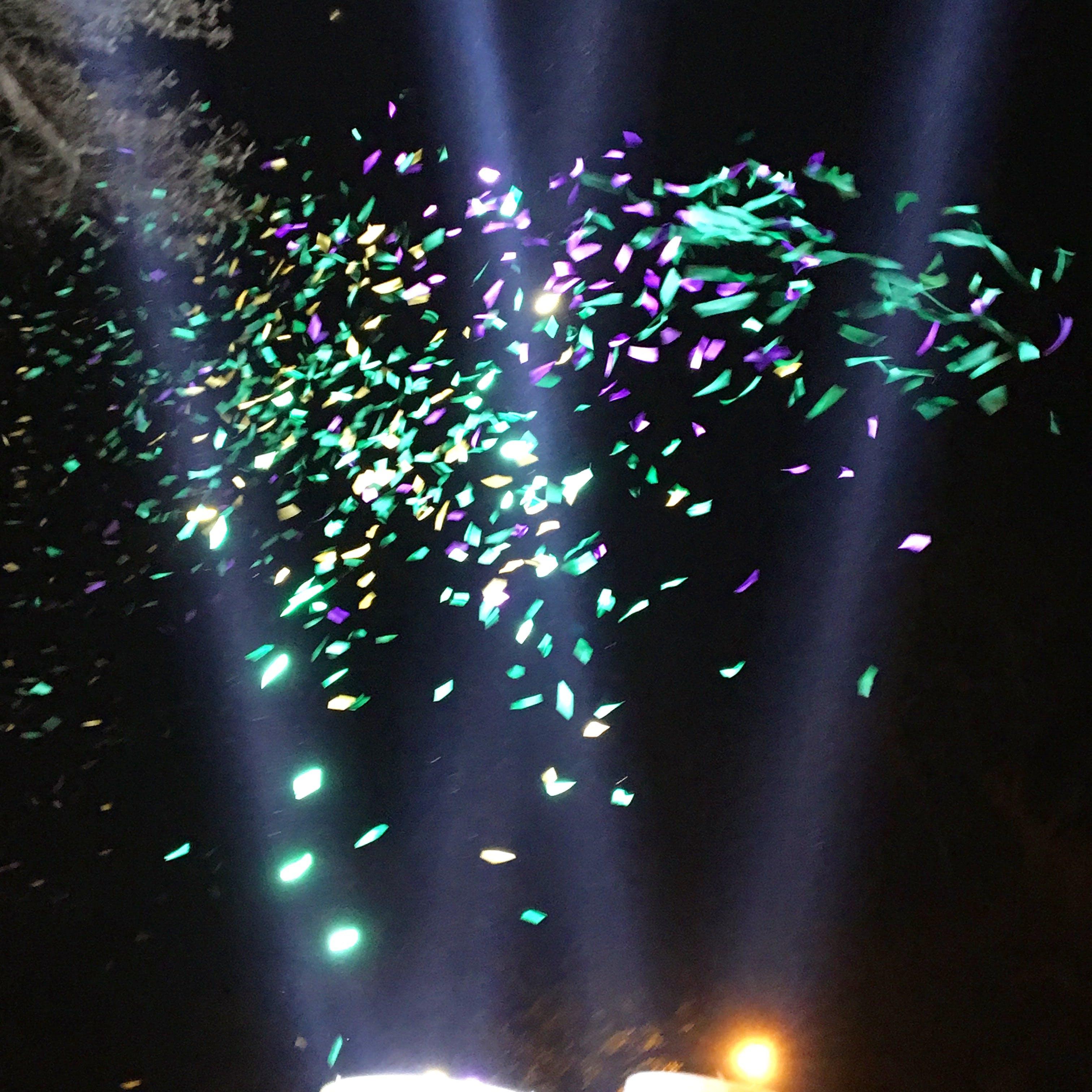 Free stock photo of confetti, mardi gras, spotlights