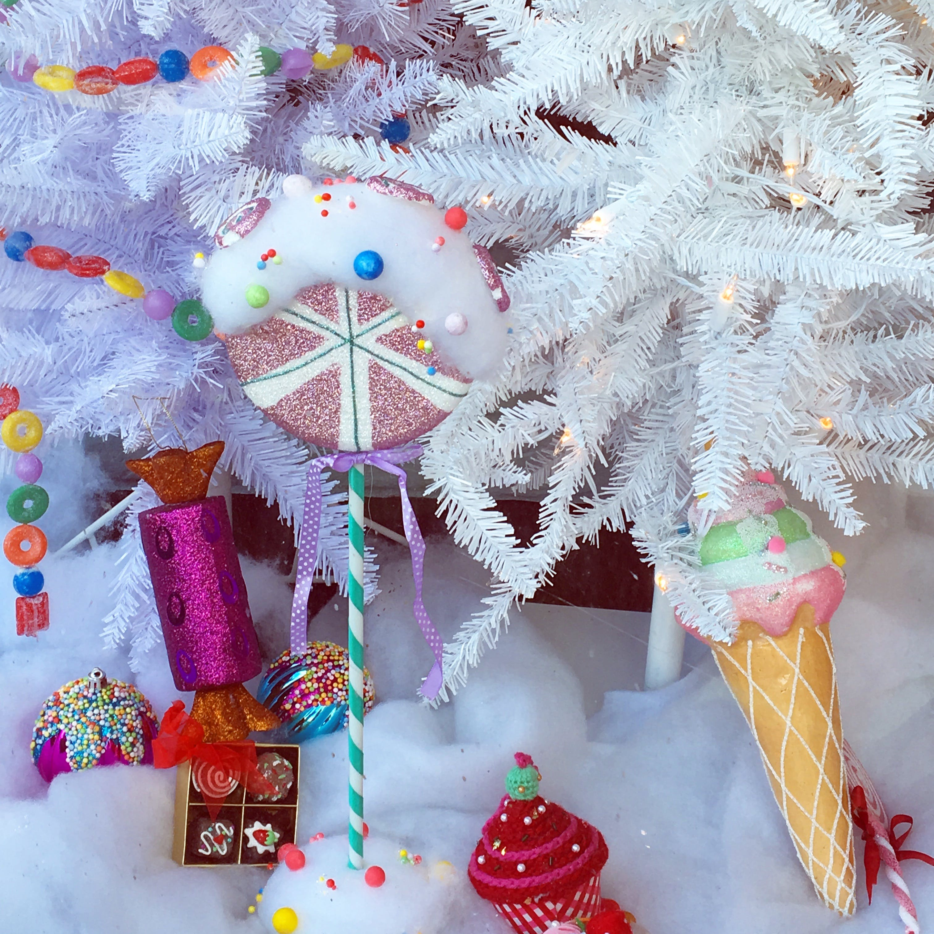 Free stock photo of candy, christmas, christmas tree, decorations