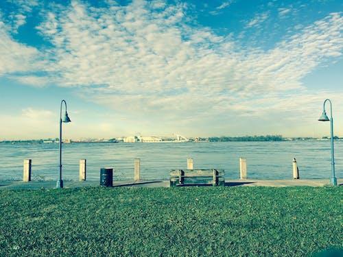 Foto d'estoc gratuïta de banc, nova orleans, riu mississipí