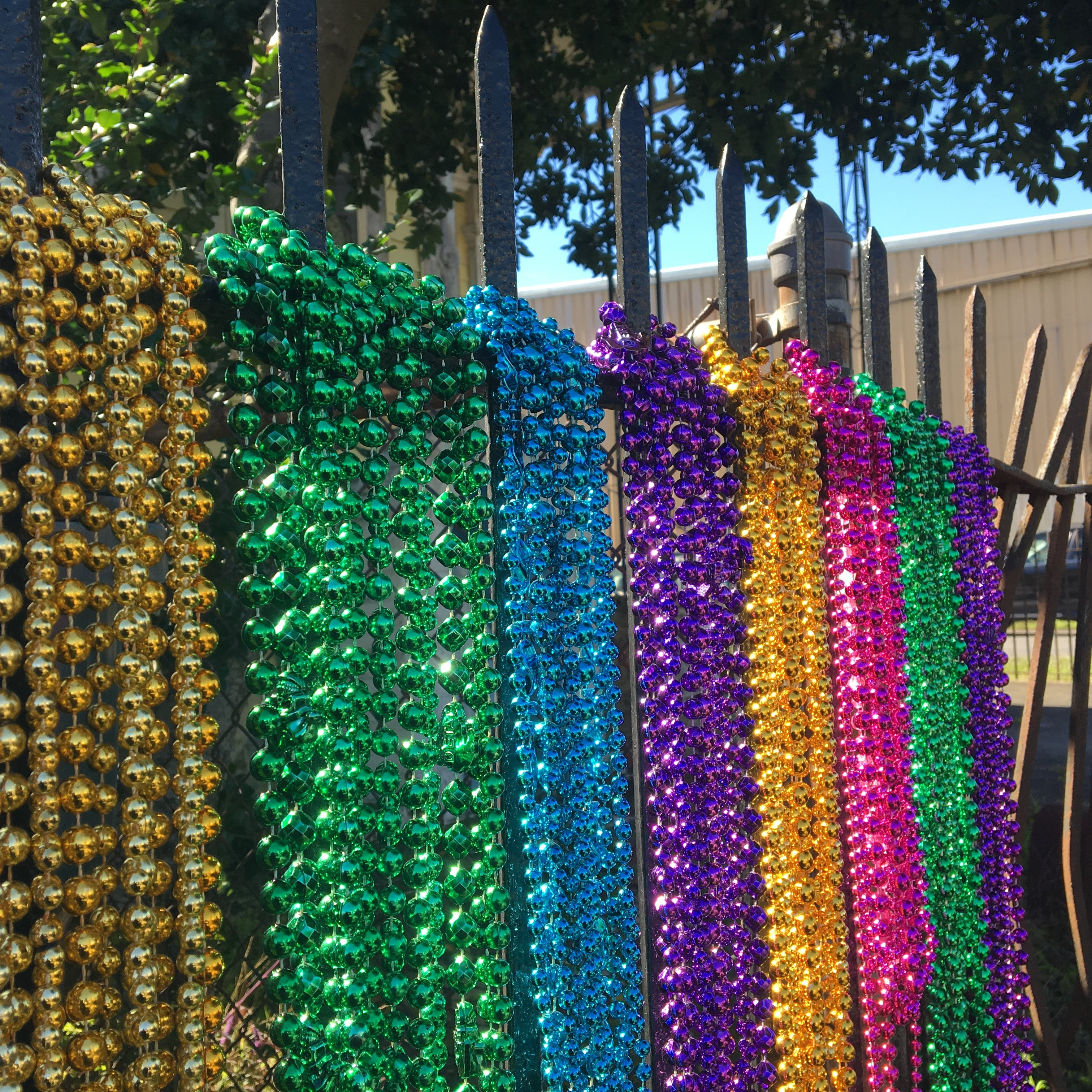 Free stock photo of beads, colorful, colors, mardi gras
