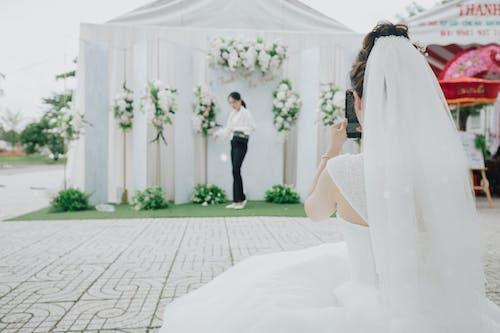 คลังภาพถ่ายฟรี ของ ตกแต่งงานแต่งงาน, วันแต่งงาน