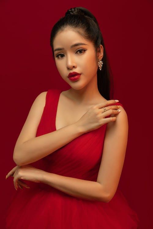 Kostnadsfri bild av Adobe Photoshop, ansiktsskönhet, elegant, flicka
