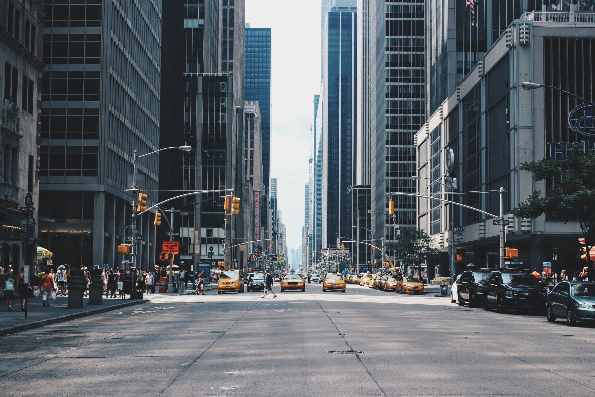 Free stock photo of city, traffic, street, buildings