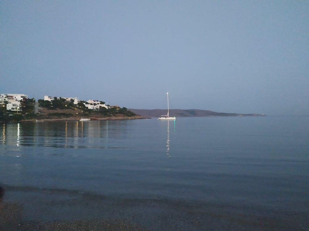 Free stock photo of sea, shore, sounio