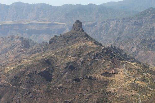 Mountainous terrain with green valley