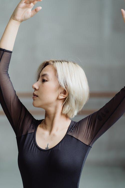 亞洲女人, 亞洲女性, 位置, 信心 的 免費圖庫相片
