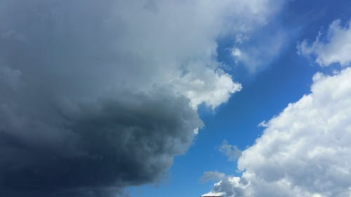 Free stock photo of blue, blue sky, clouds, dark clouds