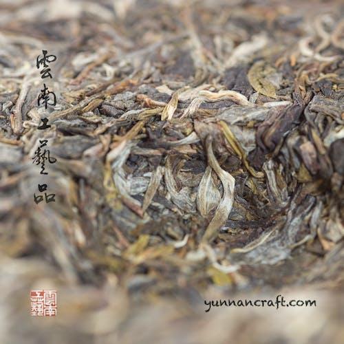 Free stock photo of pu-erh tea from Yiwu, raw pu-erh tea from China, Yunnan pu-erh tea