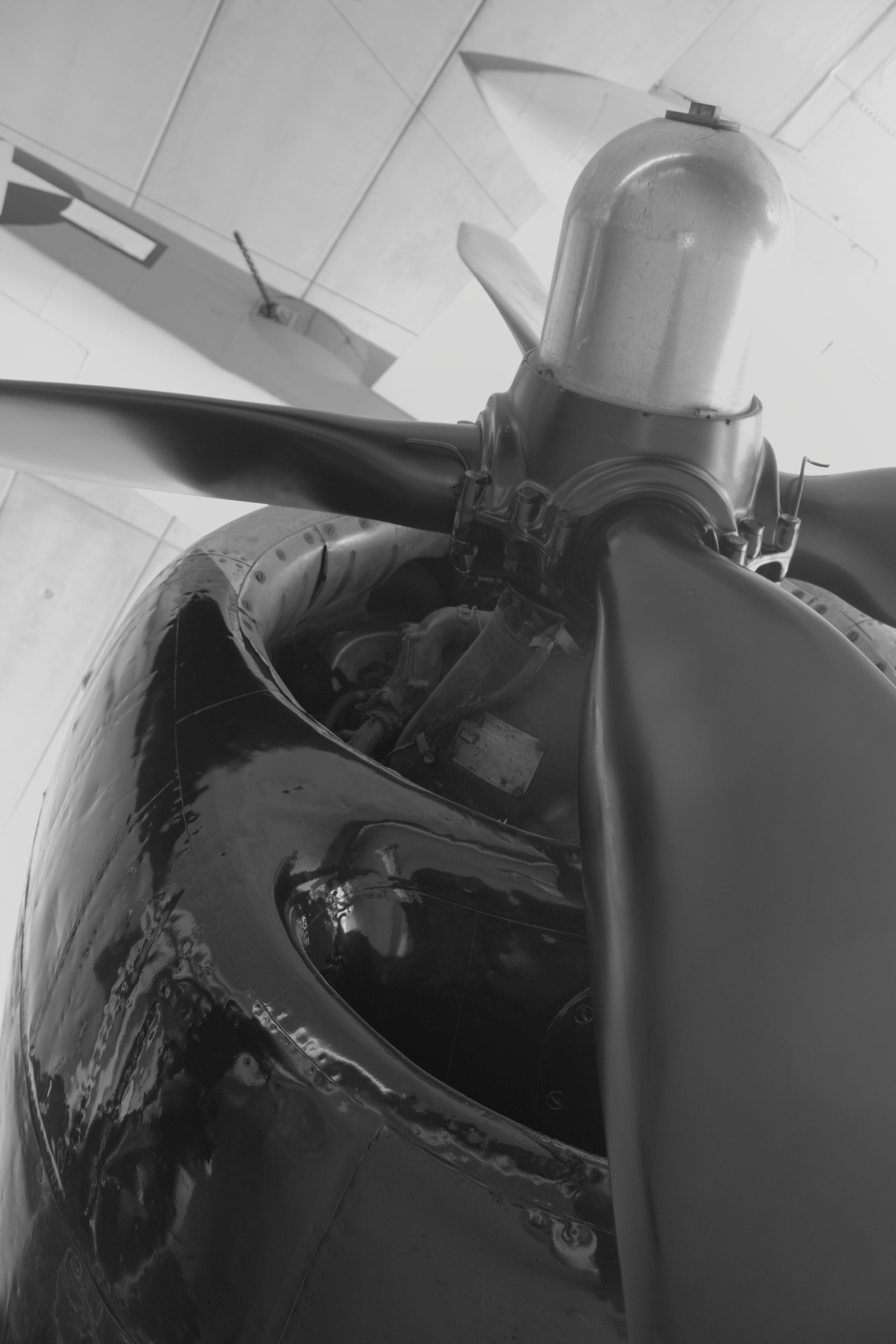 Free stock photo of plane, plane engine