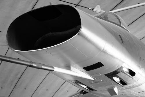 Free stock photo of black-and-white, monochrome, plane, warplanes