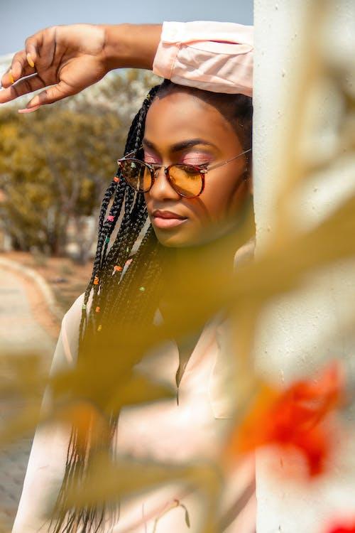 アフリカ系アメリカ人女性, エスニック, エレガント, カラフルの無料の写真素材