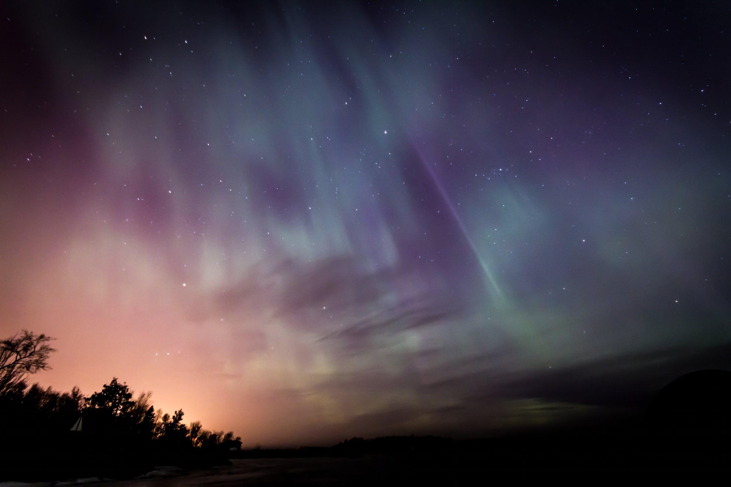 Δωρεάν στοκ φωτογραφιών με aurora borealis, αστέρια, αστερισμός, δωρεάν ταπετσαρία