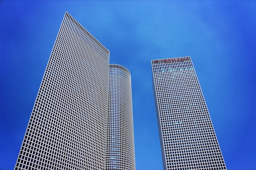 Free stock photo of sky, blue, skyscrapers, architecture