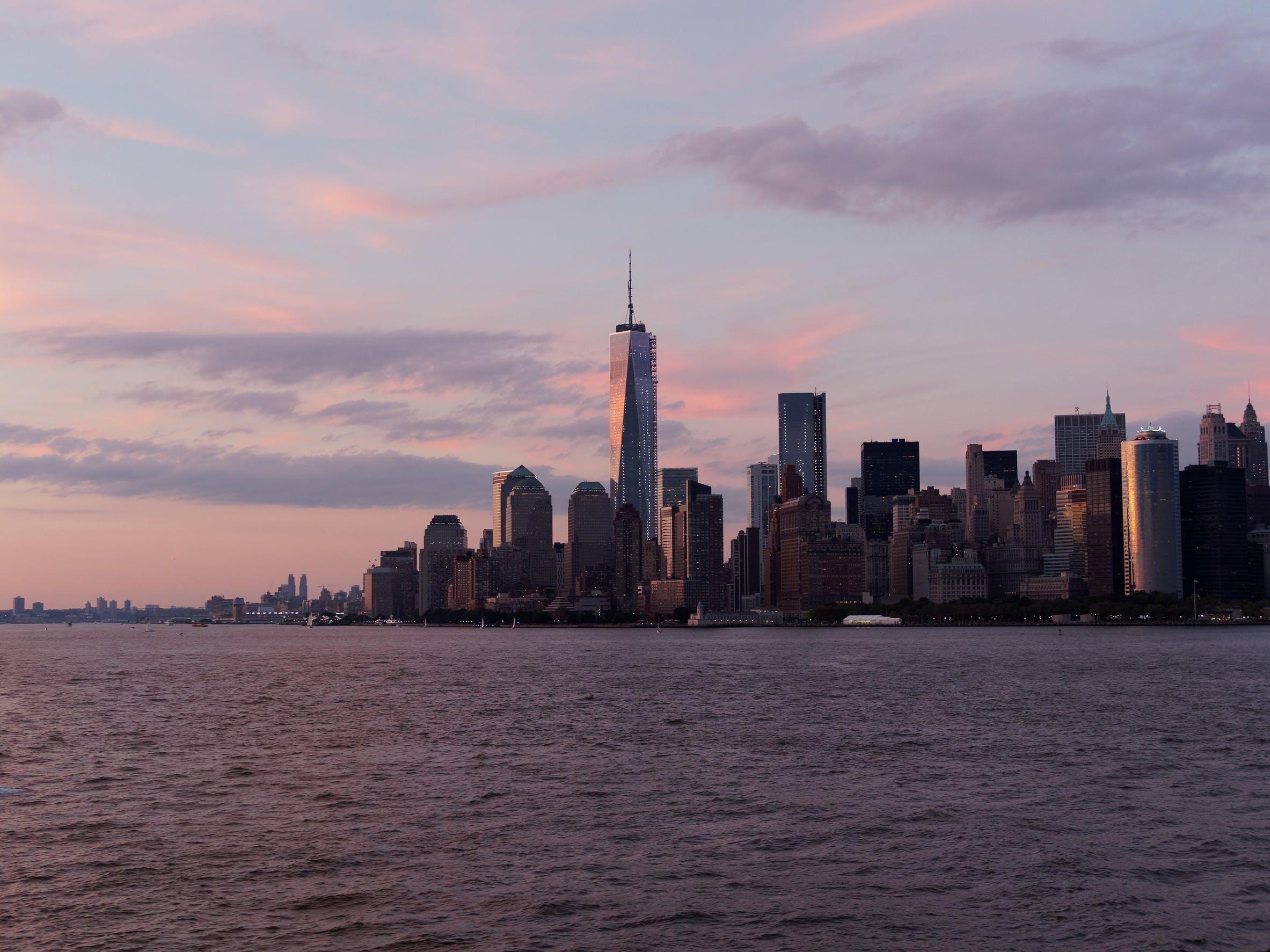 Free stock photo of city, skyline, buildings, new york