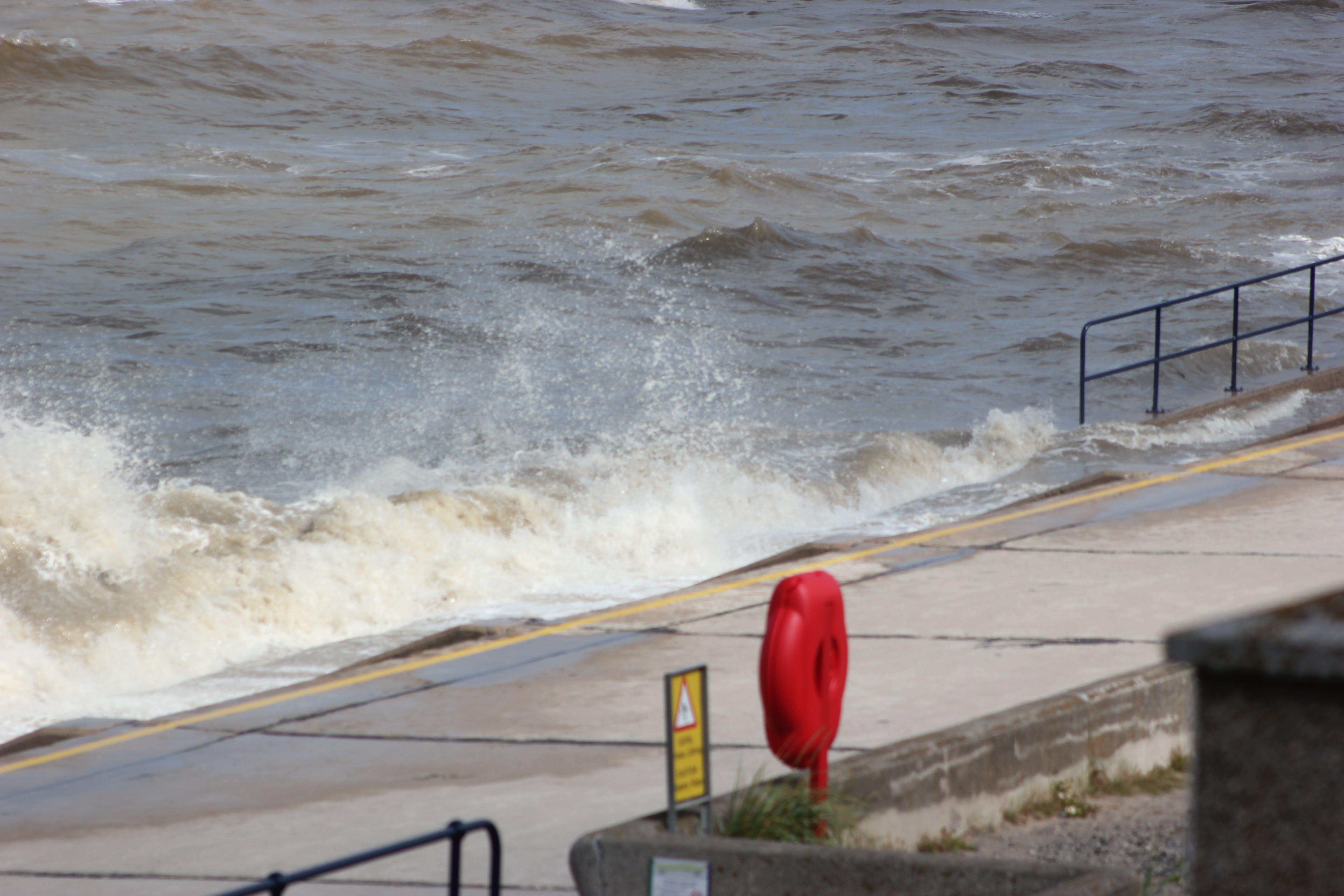 Free stock photo of sea, waves breaking