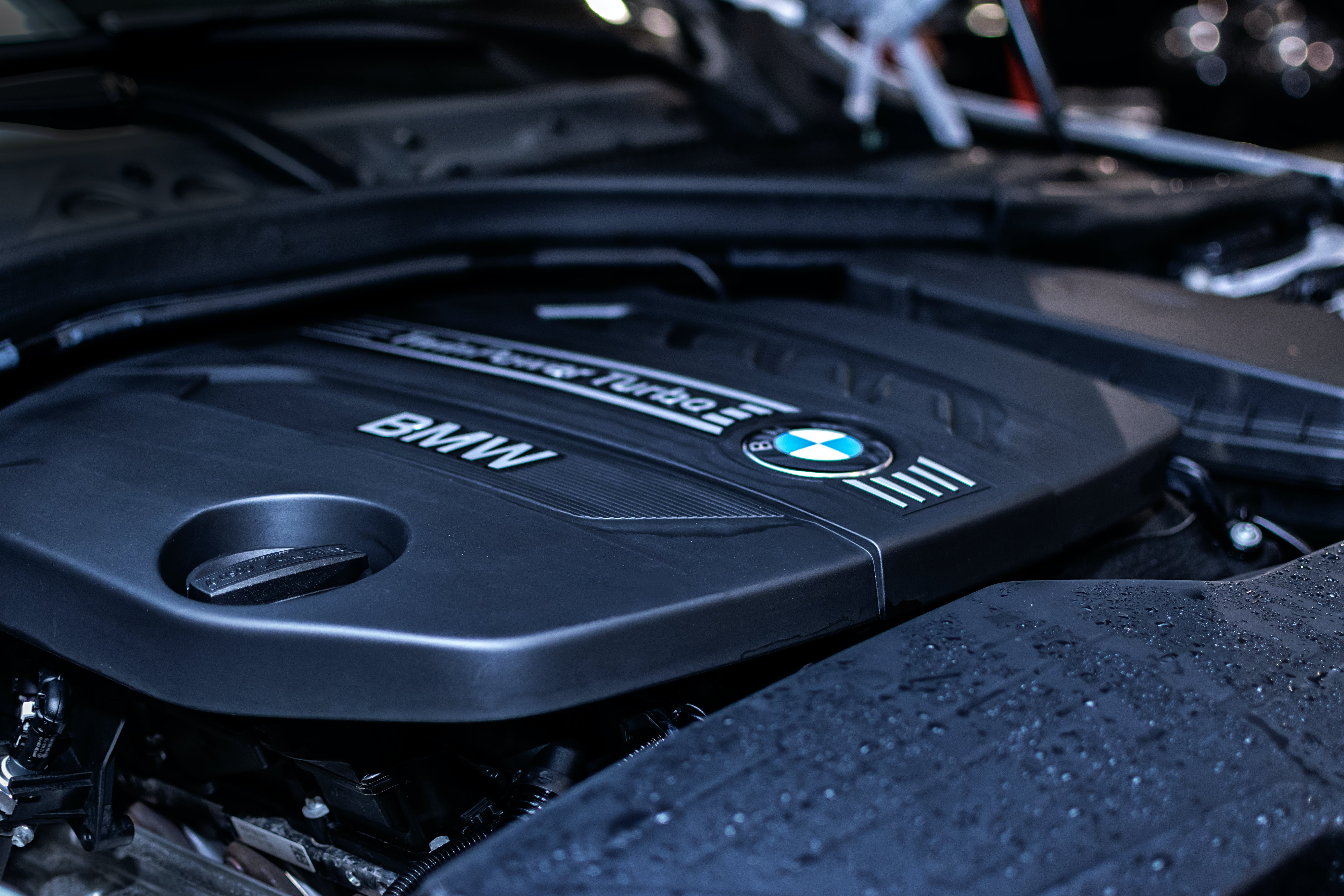 Black Bmw Engine