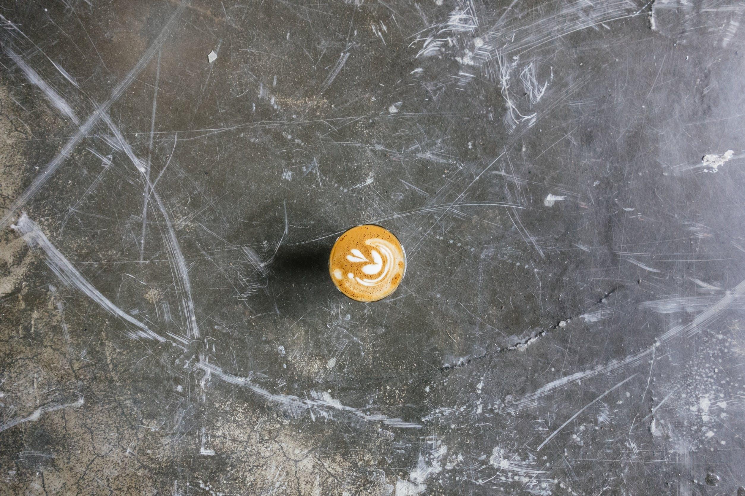 Free stock photo of café, cappuccino, coffee, foam