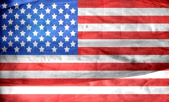 Free stock photo of united states of america, stars, flag, usa