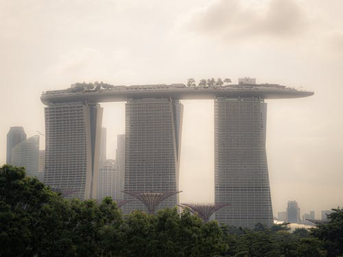Free stock photo of marina barrage, Marina Bay Sands, Singapore city