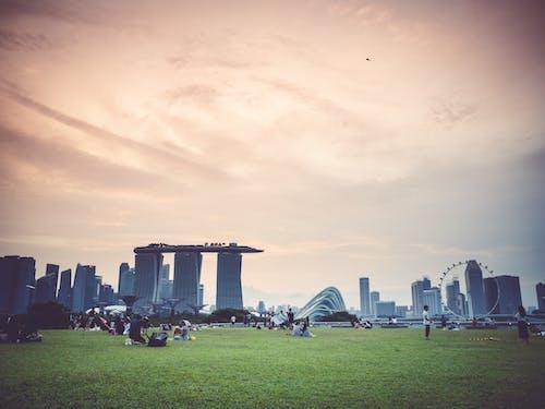 Free stock photo of cityscapes, Marina Bay Sands, Singapore cityscape