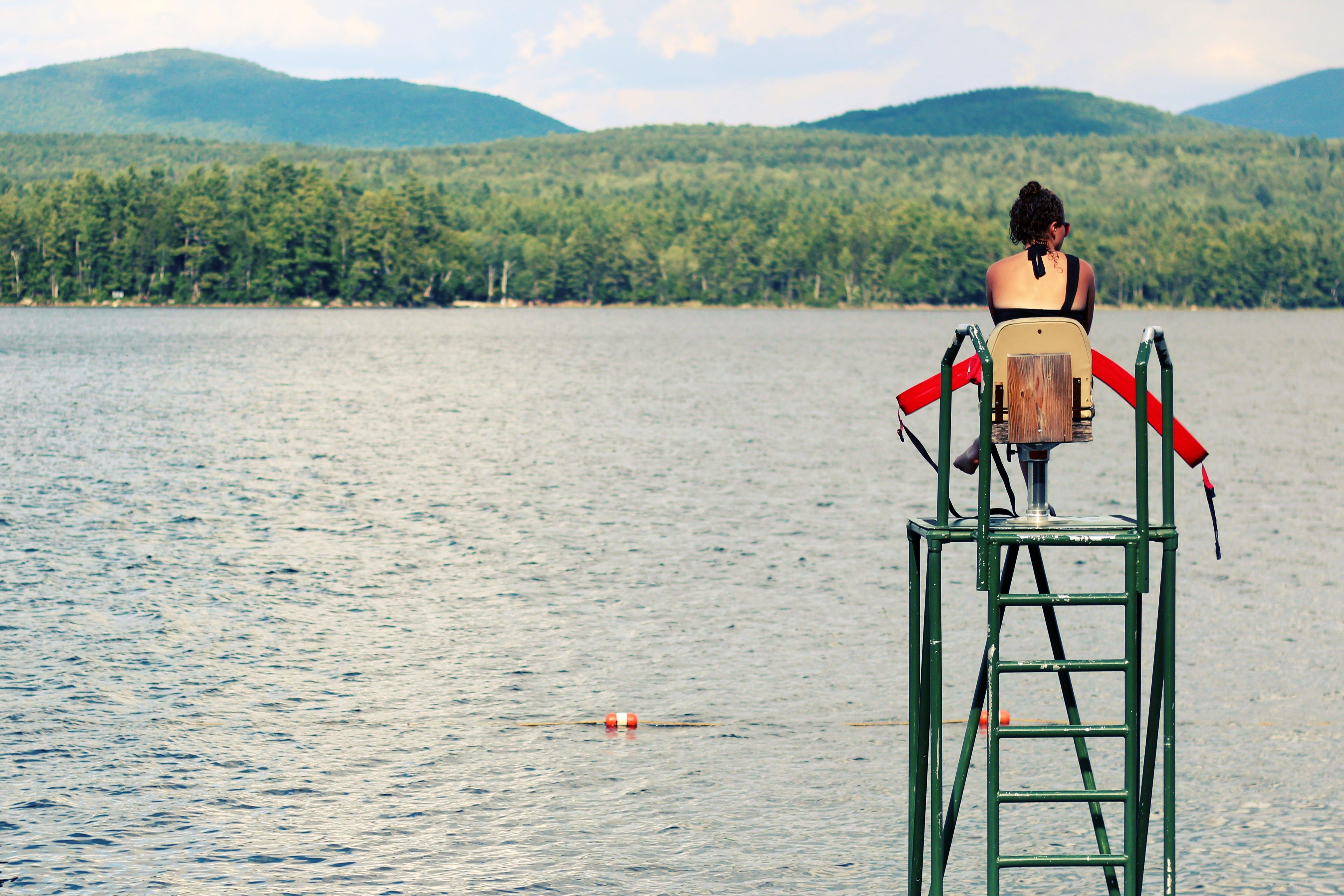 Free stock photo of emergency, lake, lifeguard, protection