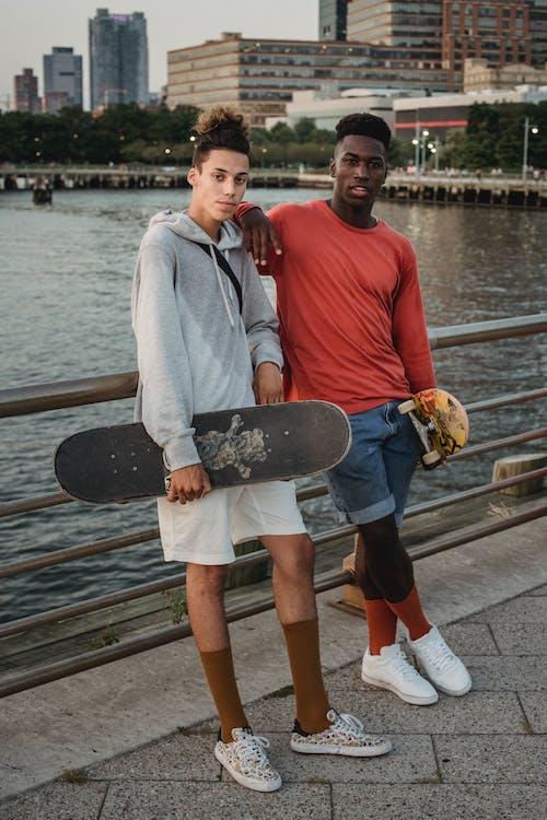 Skateboarder Friends