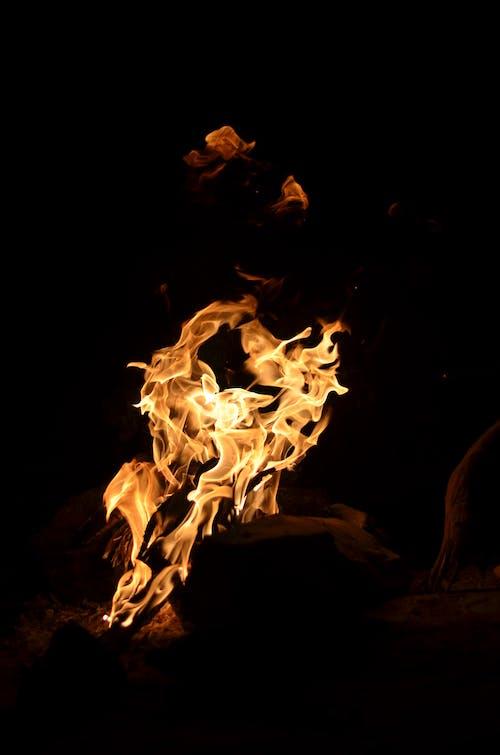 คลังภาพถ่ายฟรี ของ กองไฟ, ควัน, ความร้อน