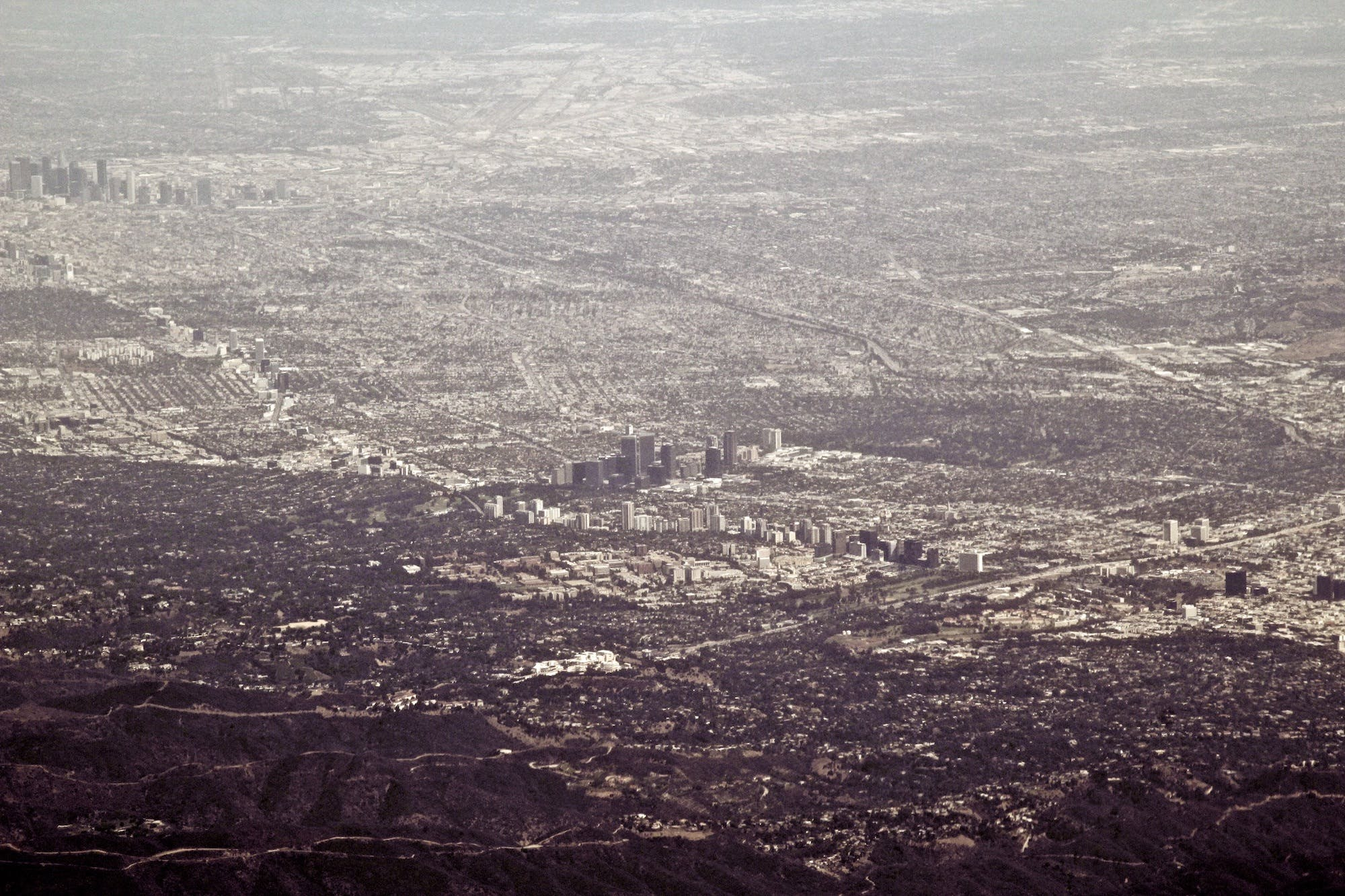 Free stock photo of aerial, area, buildings, city
