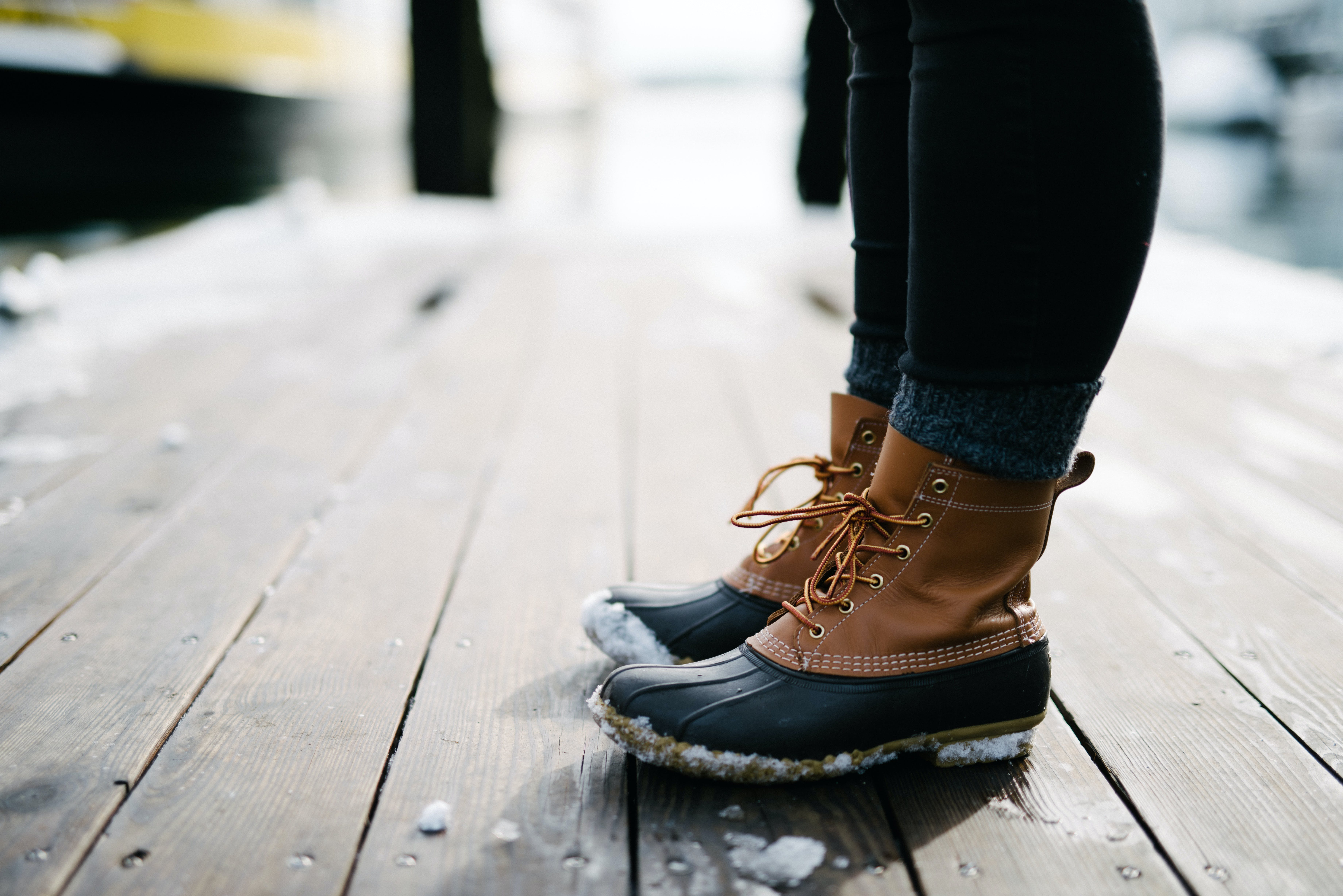 Free stock photo of cold, snow, feet, winter