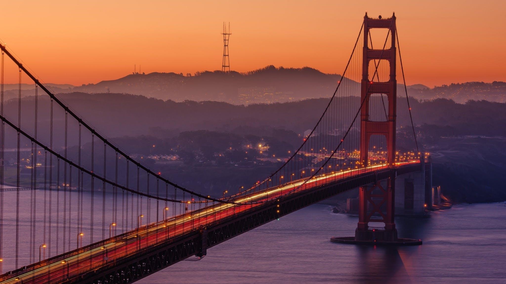Free stock photo of landmark, skyline, bay, bridge