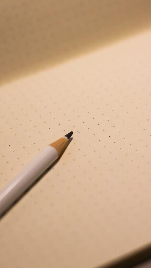 White Pencil on White Textile