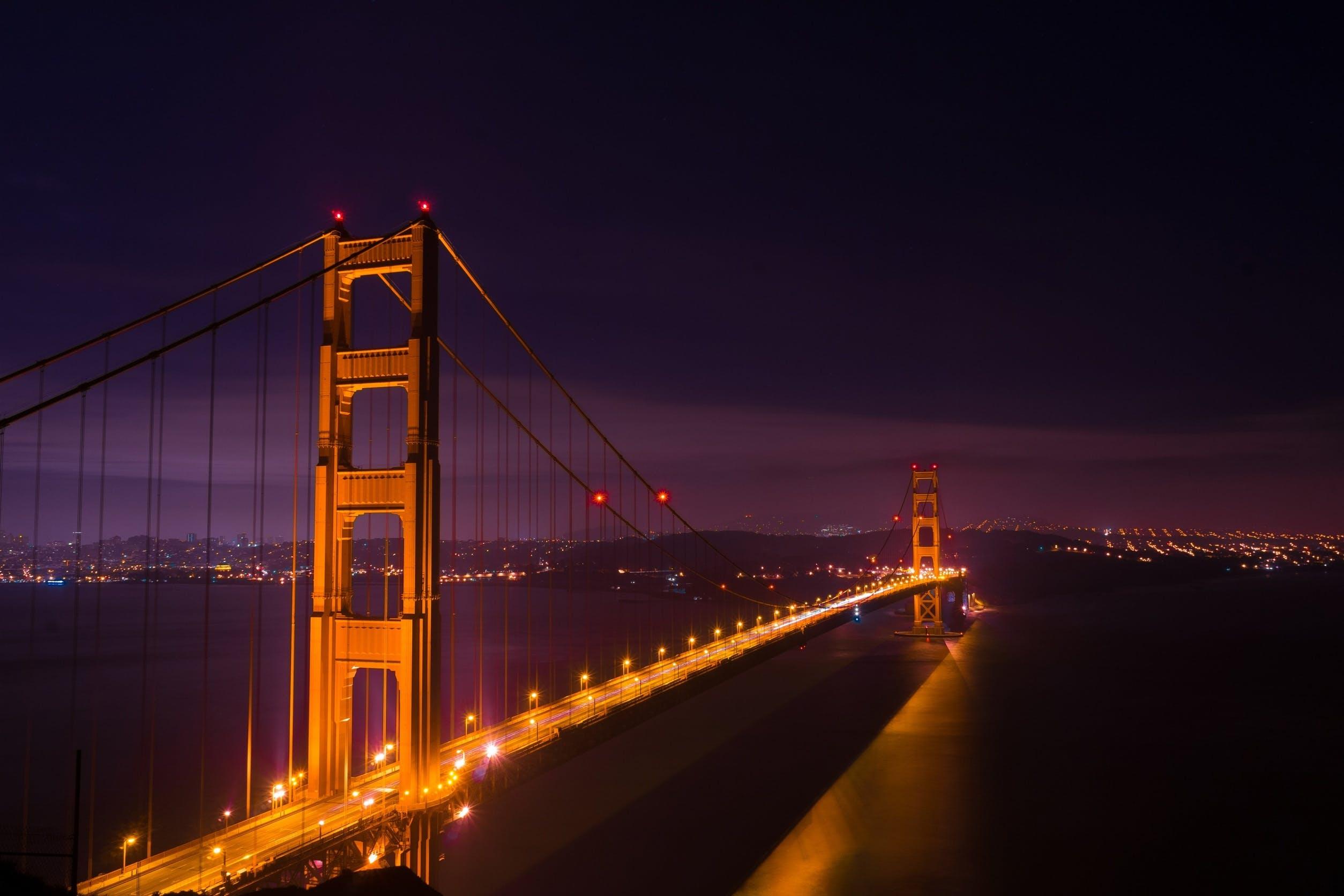 Free stock photo of city, sky, landmark, night