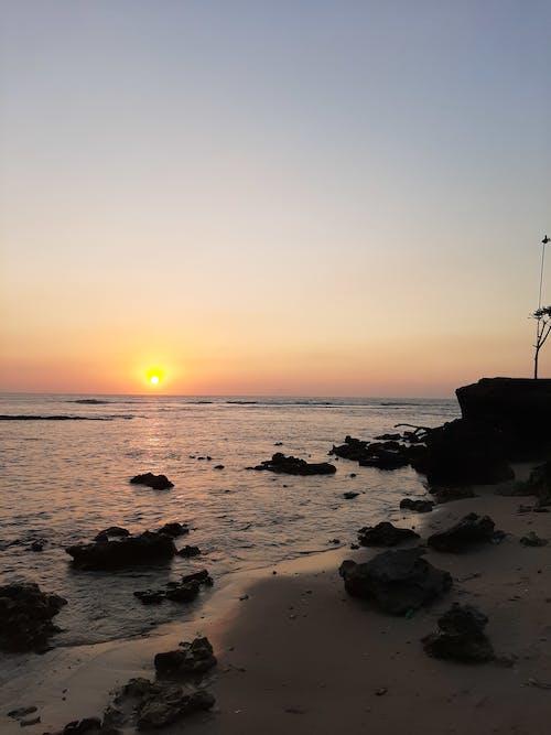 Free stock photo of android wallpaper, banten, beach, beach sunset