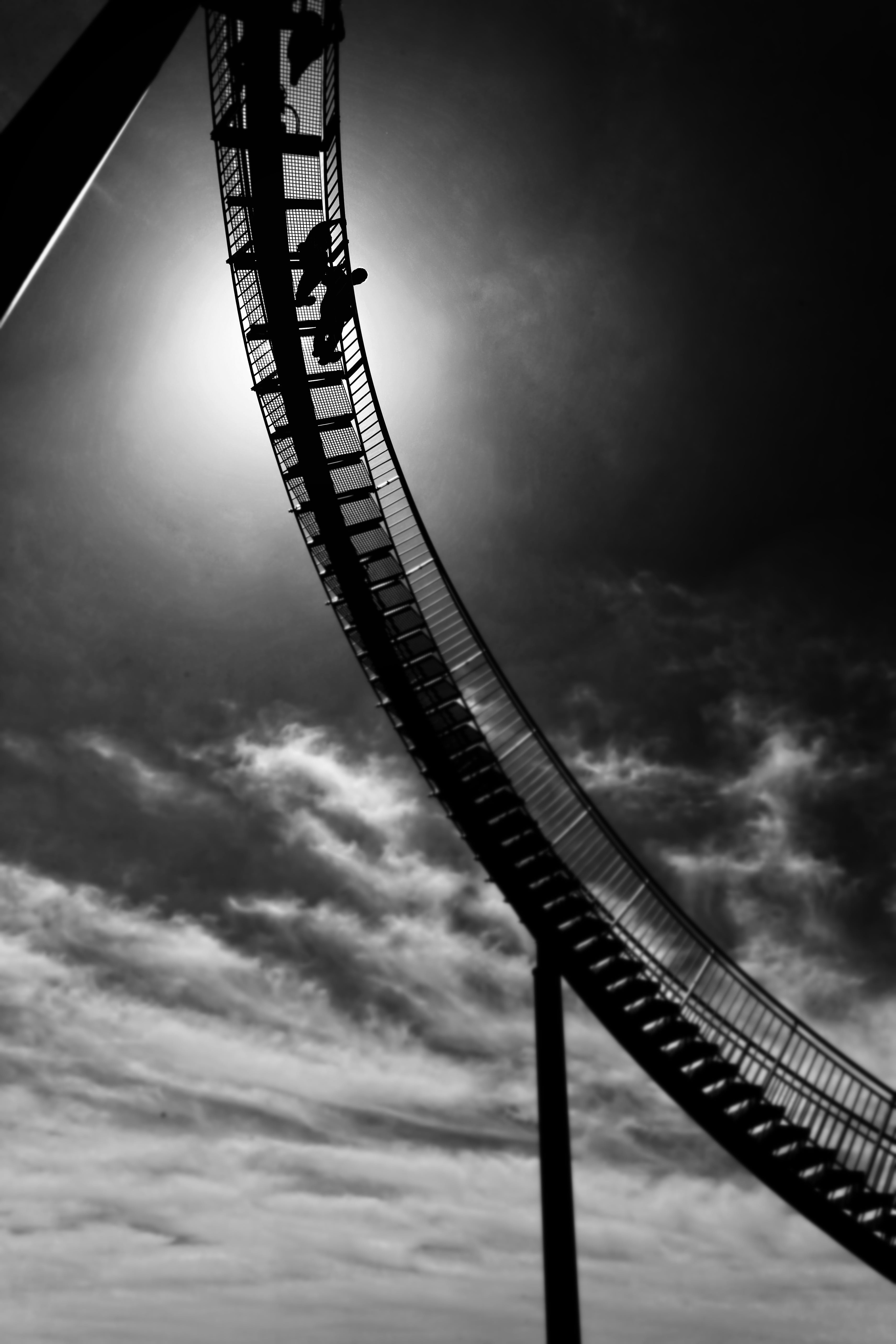 Free stock photo of park, curves, steep, attraction