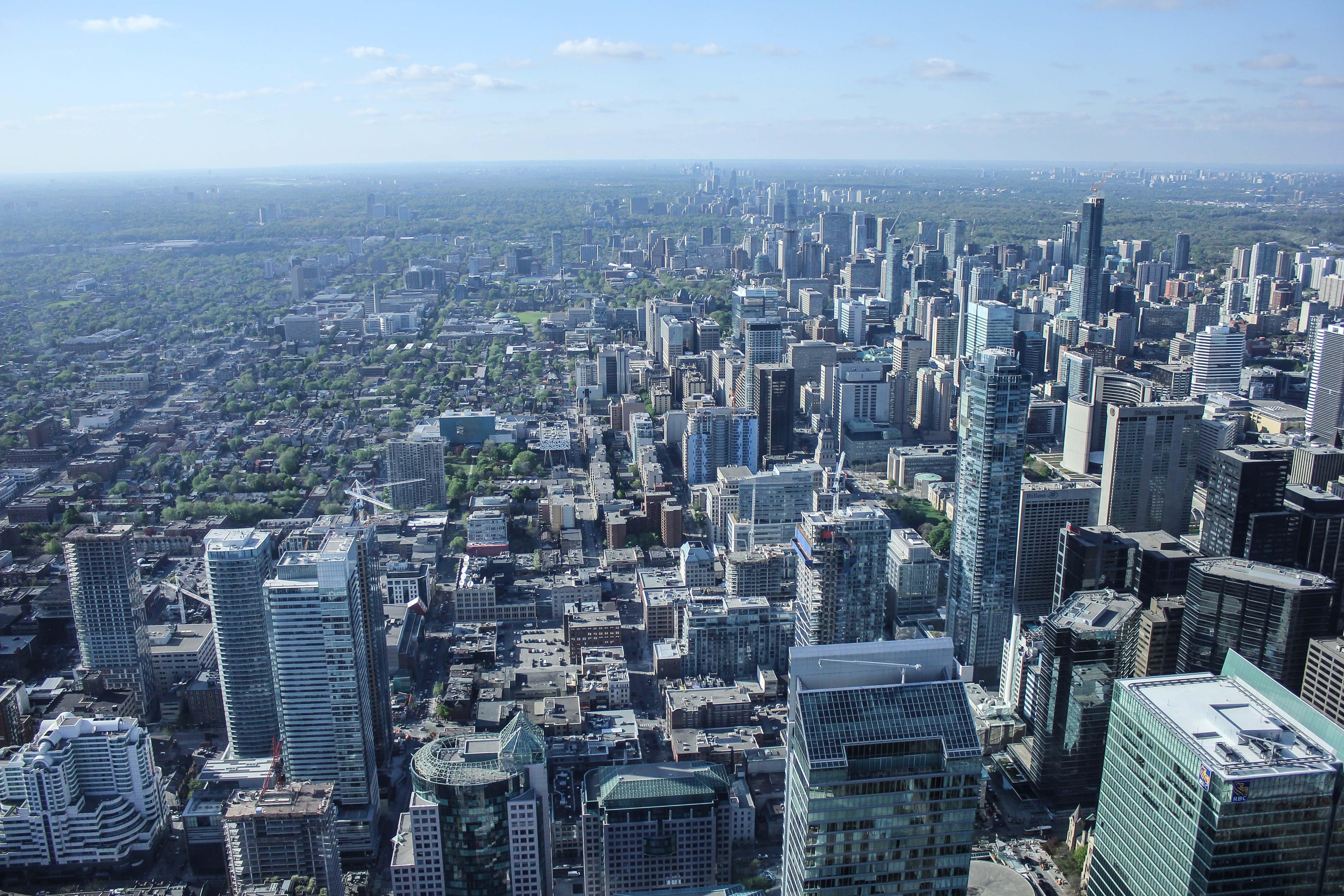 Free stock photo of city, bird's eye view, skyline, buildings
