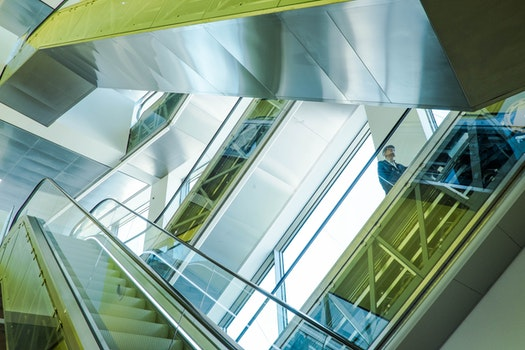 Free stock photo of stairs, steps, glass, walkway
