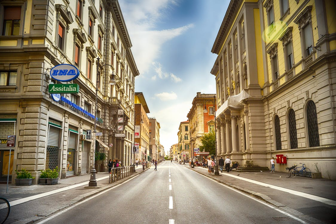 by, gade, historisk
