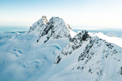 Foto d'estoc gratuïta de alt, altitud, cobert de neu