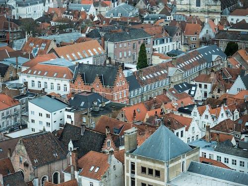 Aerial Shot of Residential Buildings